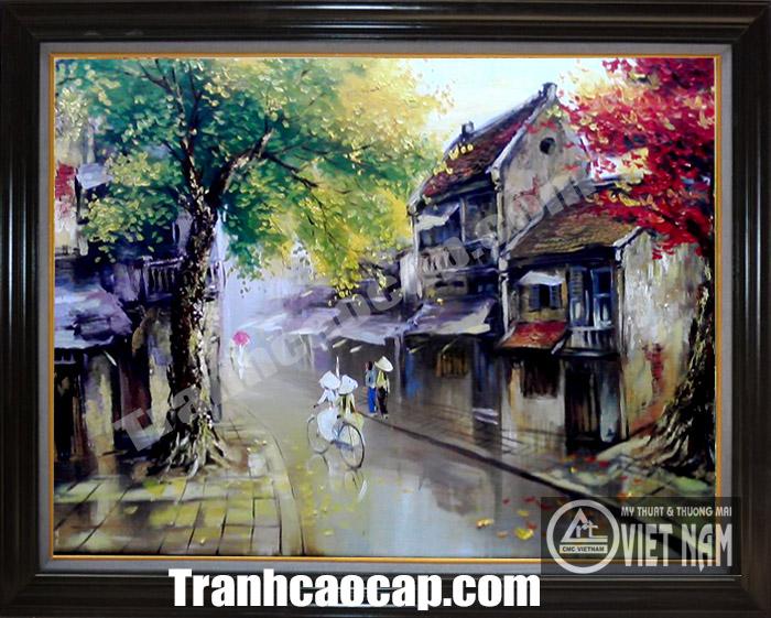 Tranh phố cổ Hà Nội